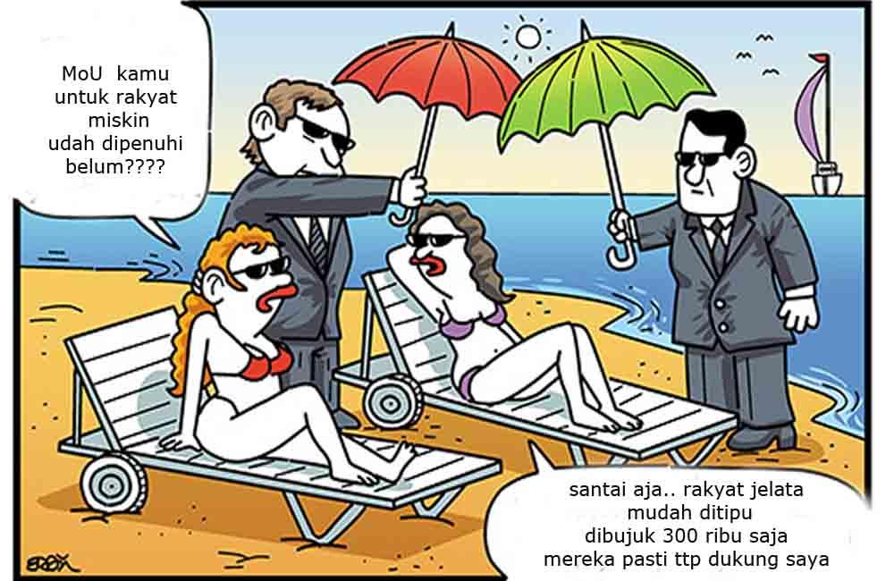 Karikatur Ilustrasi