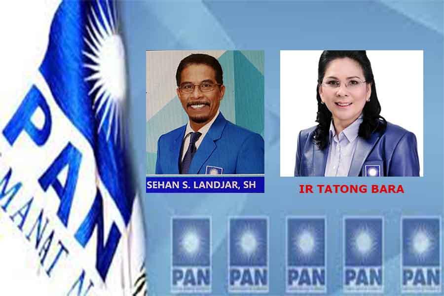 Perebutan Ketua DPW PAN Sulut Sehan Landjar dan Tatong Bara.