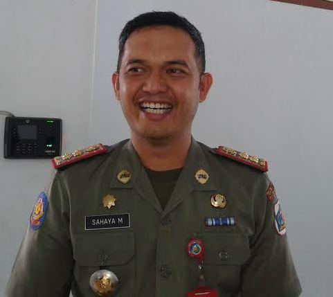 Sahaya Mokoginta SSTP, ME kepala kantor Satuan Polisi Pamong Praja Kota Kotamobagu (dok: ktg post)