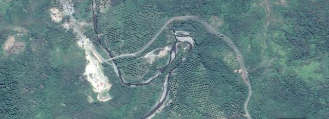Lokasi Waduk di Kabupaten Bolmong