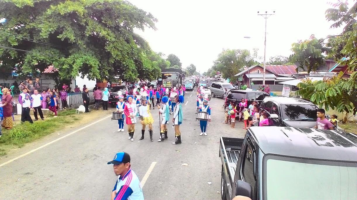 Gebyar PAUD dan Lomba Karnaval di Bolmong