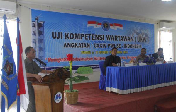 Salah satu kegiatan UKW sesuai peraturan Dewan Pers
