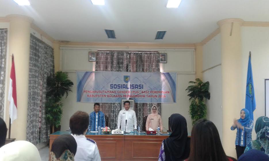 sosialisasi gender Kab Bolmong