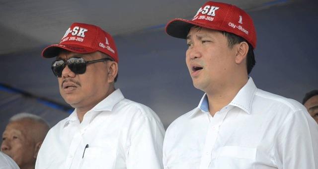 Pasangan OD-SK yang sukses memenangkan Pilkada Gubernur Sulut melalui gerbong PDIP Perjuangan. (dok Istimewa)