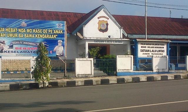 Kantor Polisi Satuan Lalulintas Polres Bolmong