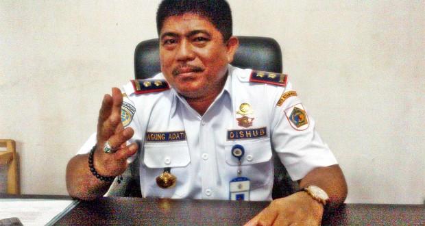 Kepala Dinas Perhubungan Kotamobagu Drs Agung Adati (dok : L-BMR)