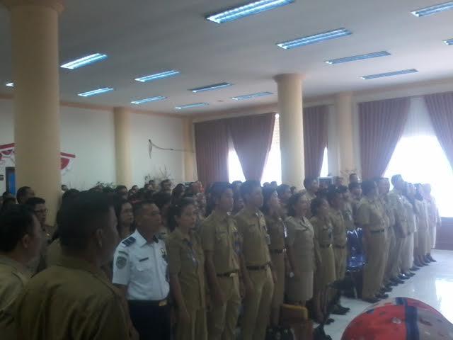 sebanyak 247 Honorer Pemkab Bolmong tetapkan sebagai PNS