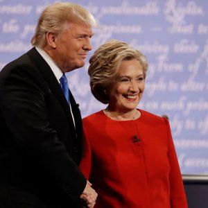 Trump dan Klinton