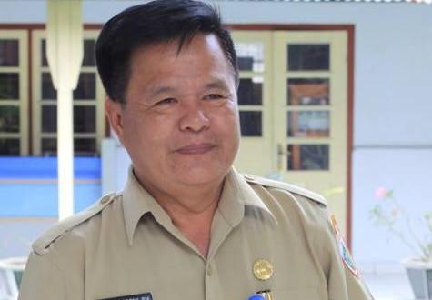Haris Podomi Kepala Dinas Sosial dan Tenaga Kerja Kota Kotamobagu. (dok ttb-tn)