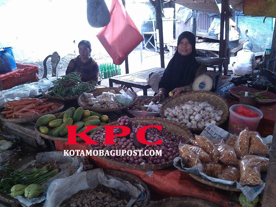 Jelang Natal, Ini Harga Berbagai Jenis Bawang di Pasaran Kotamobagu