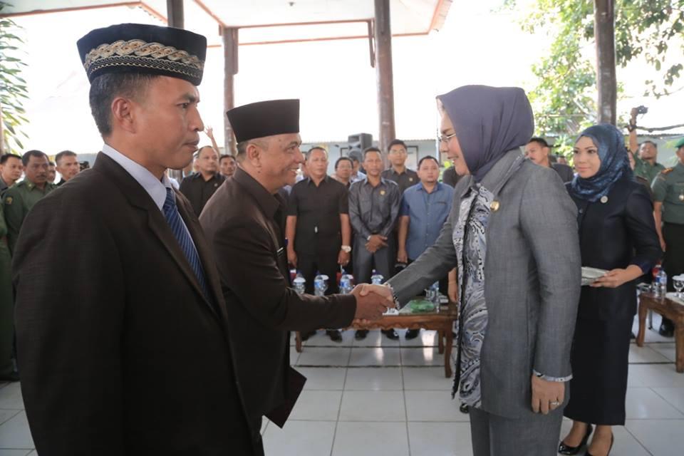 Tahlis Galang SSTP, MSi saat dilantik sebagai Sekreatris Daerah Kota Kotamobagu (dok : istimewa)