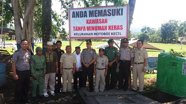 Salah satu gebrakan Pemerintah Kotamobagu, TNI dan Polri untuk tetap menjaga Kotamobagu sebagai Kota Aman