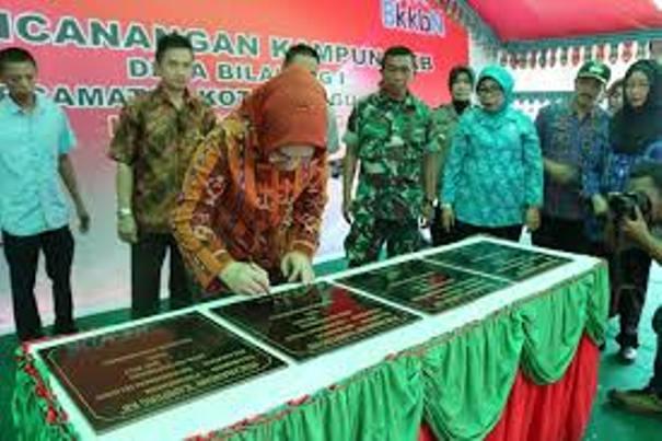 "Walikota Kotamobagu : ""Kampung KB, Topang Program Pemerintah"""