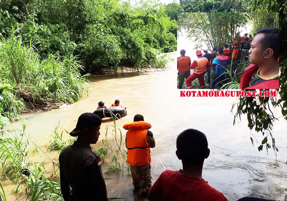 Masih Nihil!!! Hari Ini Tim SAR Belum Temukan Dua Anak Tergerus Arus Sungai Ongkak