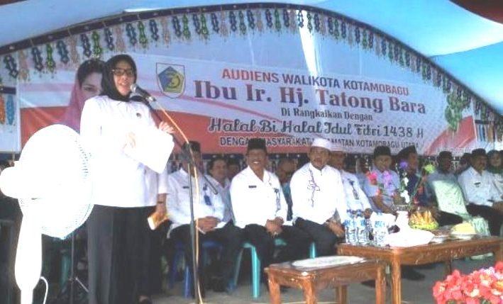 Walikota Tatong Bara Gelar Audens 4 Kecamatan Se-Kota Kotamobagu