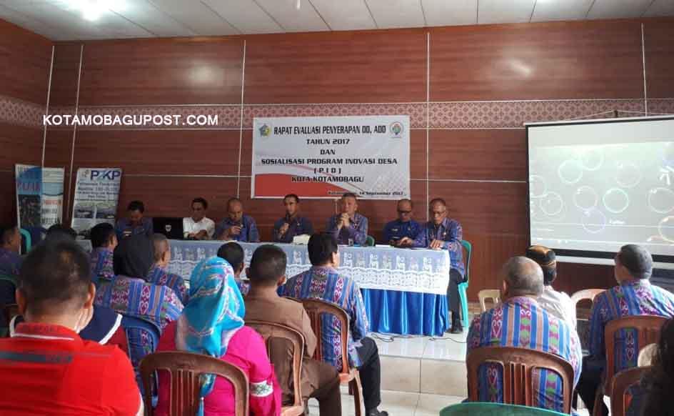 Sekda Adnan, Pimpin Rapat Evaluasi Dana DD dan ADD