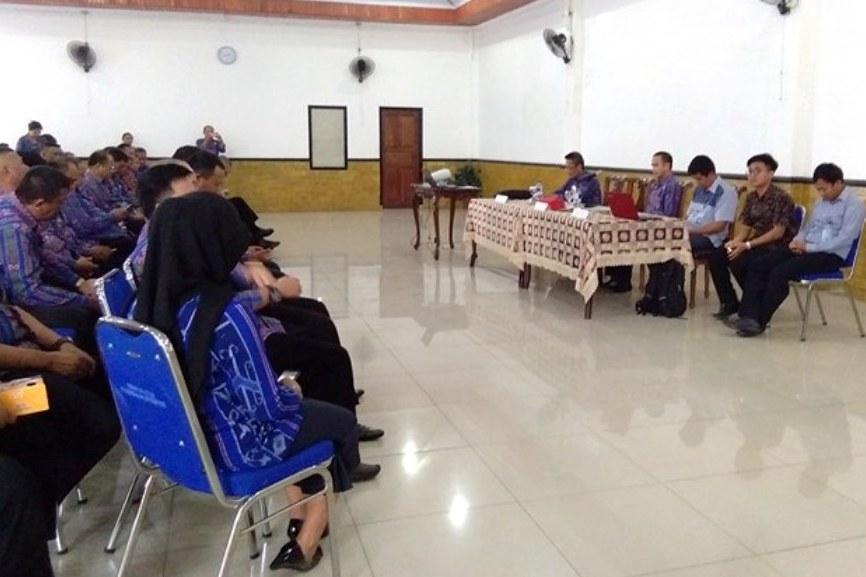 Pemkot Kotamobagu Lakukan Sosialiasi Strategi Peningkatan Maturitas SPIP