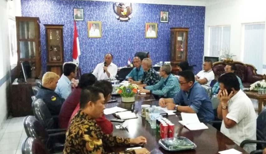 Walikota Kotamobagu Tegaskan Proses Hukum Bagi Penimbun Bahan Pangan