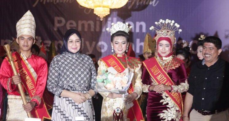 Sabet Uyo-Nanu 2018, Handly Limpaton dan Amelia Poluan Resmi Jadi Duta Kotamobagu