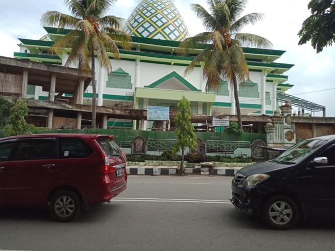 Pembangunan Masjid Raya T.A 2018, Tuntas Dikerjakan PT LBI