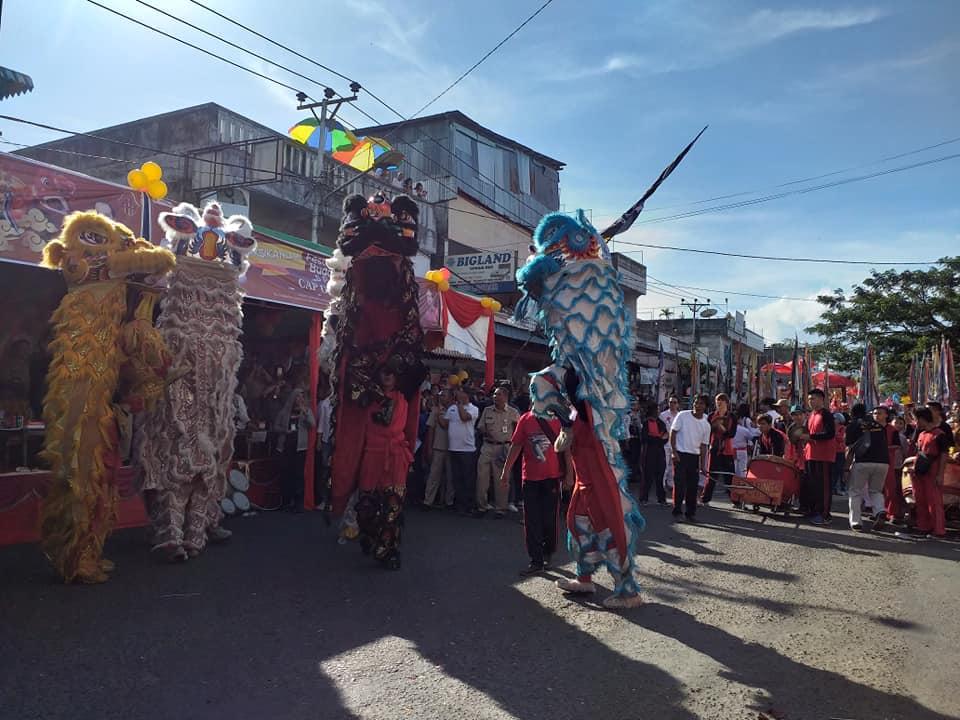 Hebat! Karnaval di Kotamobagu Pentaskan 36 Ragam Seni Budaya Berbagai Etnis
