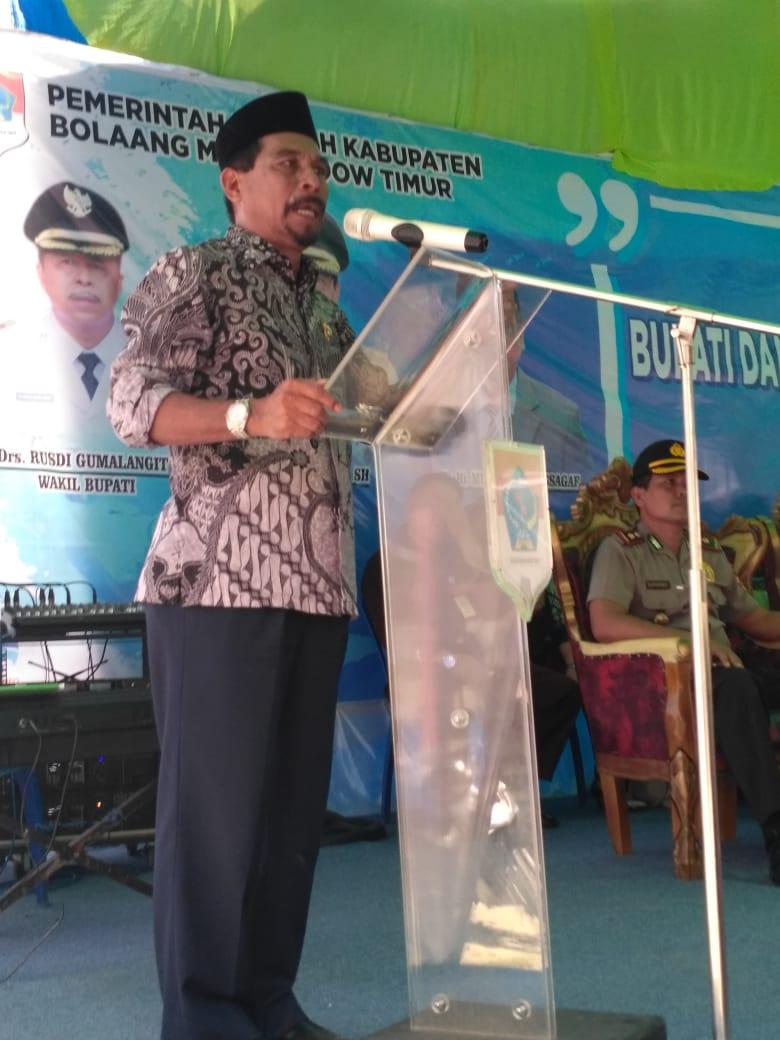 Bupati Boltim Ajak Aparat Pemerintah Desa Harus Berinovasi