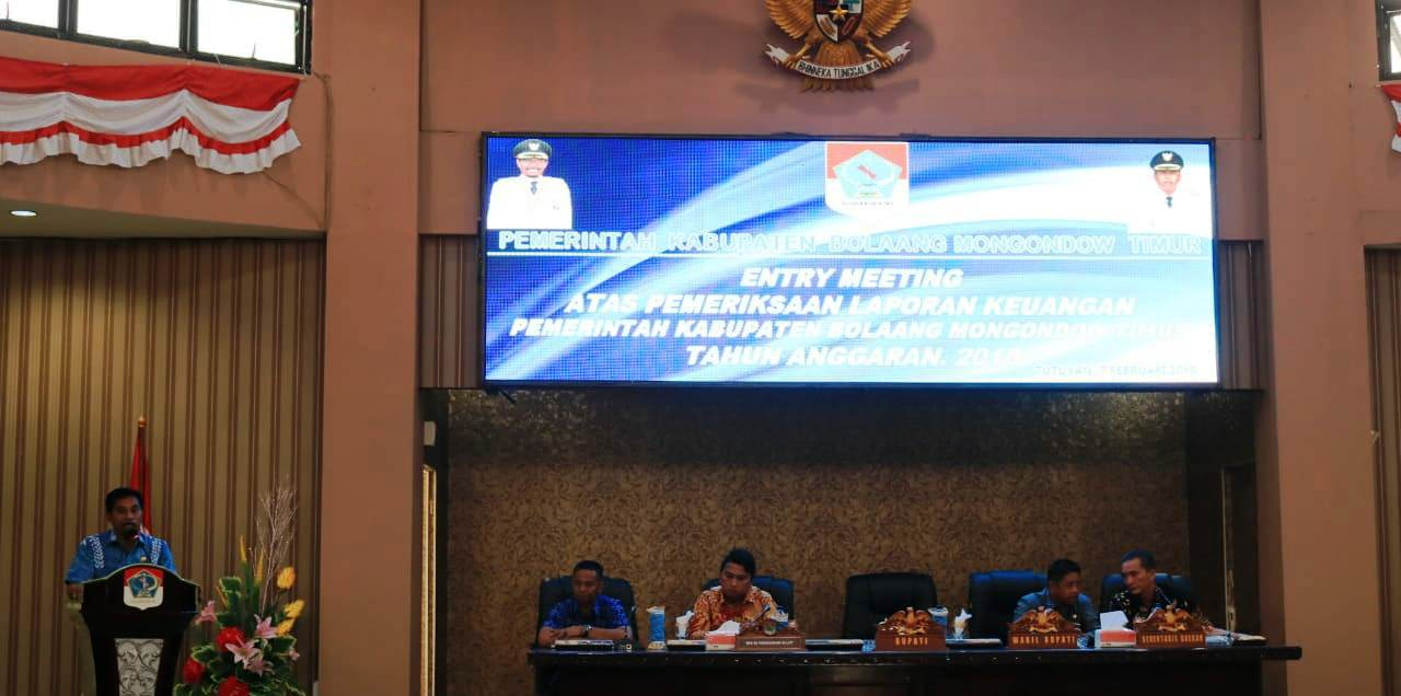 Bupati Boltim Optimis Rebut Opini WTP Tahun Kerja 2018