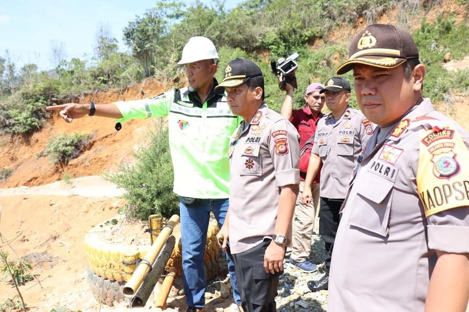 Hari Ini, Kapolda Sulut Irjen Pol.Sigid Tri Hardjanto, Telah Tiba dilokasi Pertambangan Emas Blok Bakan