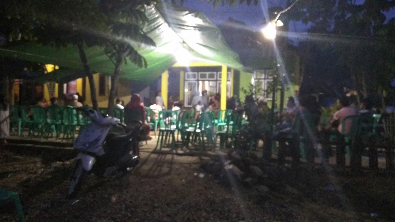 Suasana dirumah duka korban meninggal di Peti Bakan pada 25 Junii 2019