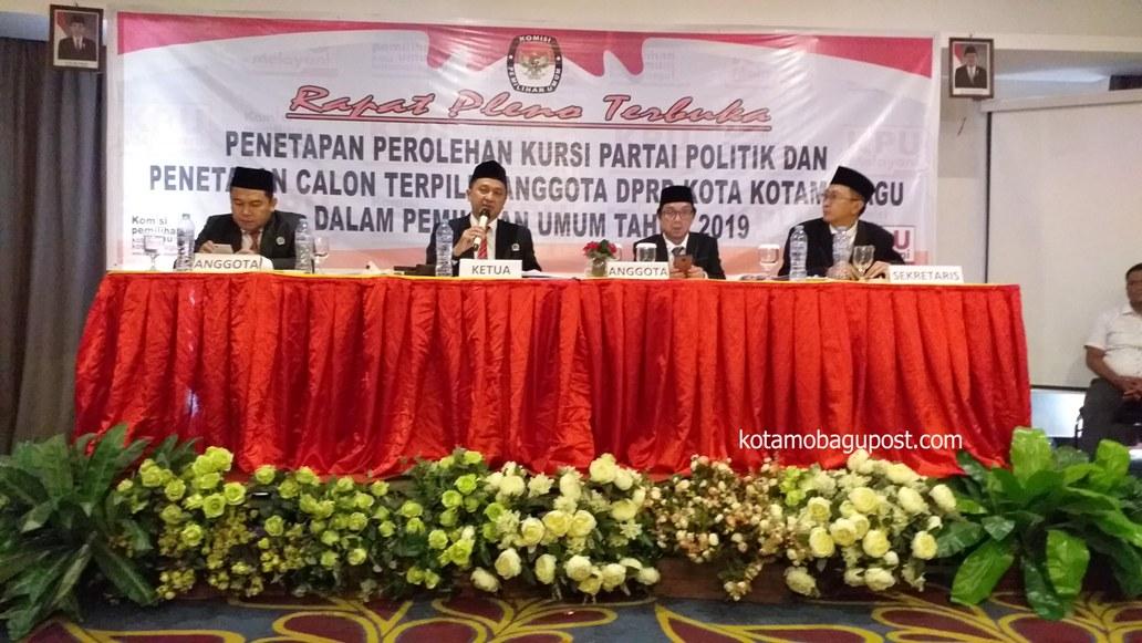 Ini Daftar Nama 25 Calon Anggota DPRD Terpilih, Ditetapkan oleh KPU Kotamobagu