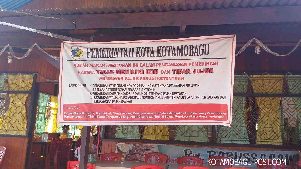7 Mesin E-Tax Milik Pemerintah Kotamobagu Kondisi Rusak
