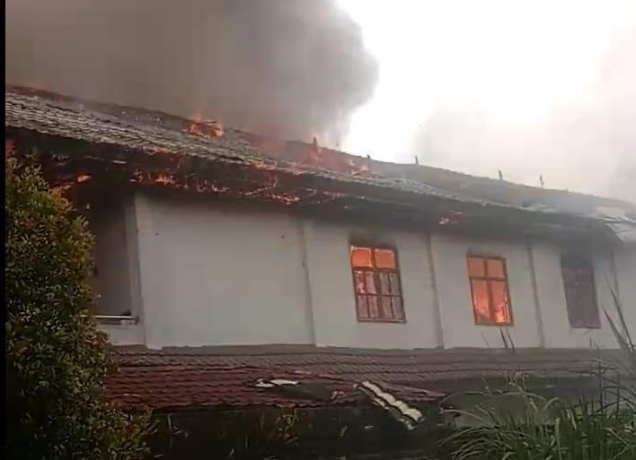 Kronologi Kebakaran Asrama Mahasiswa Papua di UKIT Tomohon