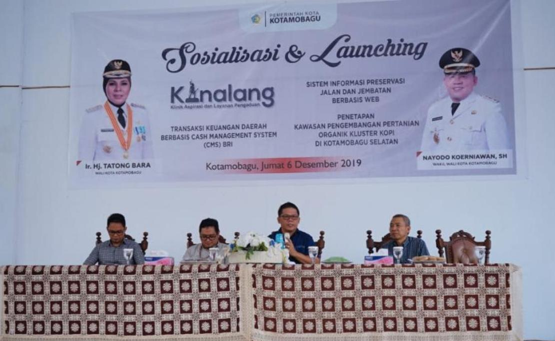 Ini Aplikasi e-Government di Launching Pemkot Kotamobagu Kurun Desember 2019