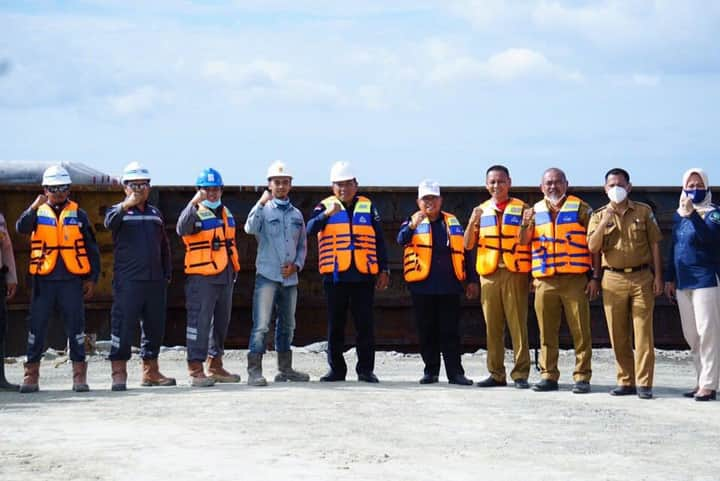 Bupati Bolmut Tinjau Lokasi Pembangunan PLTU Desa Binjeta
