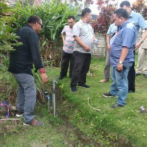 DPRD Kotamobagu Tinjau Proyek Air Bersih Di Kobo Kecil