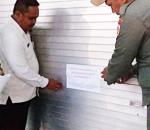 Tak Bayar Retribusi, Pemkot Tutup Sementara 19 Kios Pasar 23 Maret