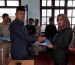 Isi Kekekosong Jabatan, 8 Pejabat StrukturalPemkot Kotamobagu Dilantik