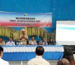 Asisten II, Buka Resmi Musrembang Kecamatan Kotamobagu Barat