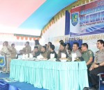 Pilsang Serentak Sukses, Bupati Bolmong Dengan Bangga Lantik 94 Sangadi Terpilih