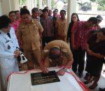 Bupati Nixon Watung, Apresasi Syukuran HUT Ke-50 Desa Pinogaluman