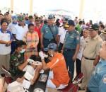 Bupati Salihi : Terimakasih Pelaksanaan Bhakti Sosial TNI AL Lantamal VIII