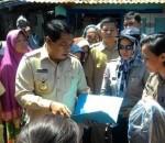 Bupati Bolmong, Salihi Mokodongan Santuni Korban Kebakaran