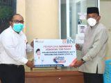 Bupati Bolmut Segera Salurkan 100 Paket Sembako Bantuan dari Bank BNI