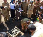 Peletakan Batu Pertama Masjid Al-Muklisin oleh Bupati Bolmong
