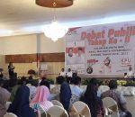 Tahapan Pilkada Kotamobagu, KPU Sukses Gelar Debat Calon Putaran II