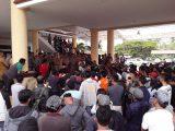 Demo Ratusan Massa, Minta Kapolres Bolmong Buka Lagi Tambang Blok Bakan