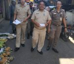 Pedagang di Badan Jalan di Paksa Masuk Jualan Dalam Pasar23 Maret