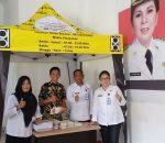 Klinik PRODIA, Sumbangkan Fasilitas Kelengkapan Untuk Perpustakaan Kotamobagu