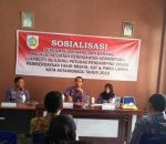 Sekda Adnan Masinae, Buka Kegiatan Sosialisasi Uang dan Barang