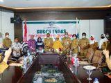 Direktur Pasca Sarjana Universitas Negeri Gorontalo Tatap Muka Dengan Bupati Depri Pontoh